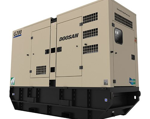 Doosan Portable Power Generatoren