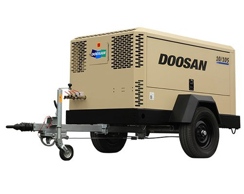 Doosan Portable Power: 10/105-JohnDeere-Stufe 3A-konform