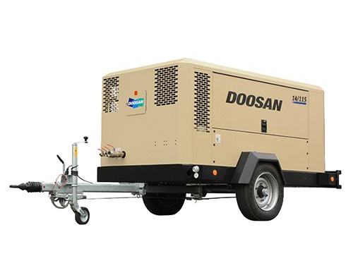 Doosan Portable Power: 14/115-JohnDeere-Stufe 3A-konform