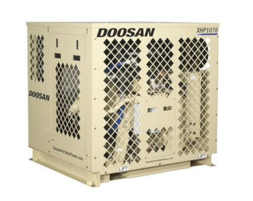 Doosan Portable Power: XHP1070CMH-1800